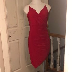 brand new red homecoming dress!